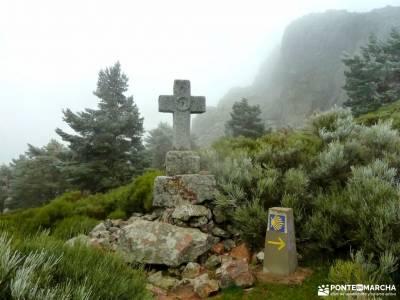 Sierra de Francia [Fiesta de la Almudena] refugio laguna grande abedular de canencia cerrada del utr